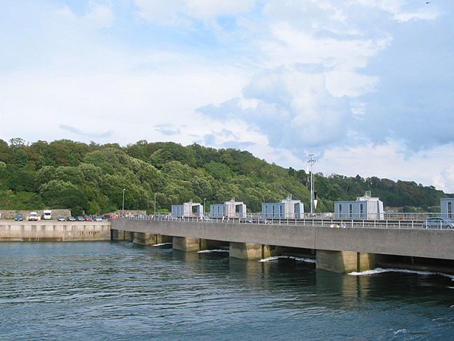 Rance Tidal Power Station, France