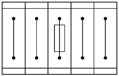 Cầu đấu dây 2 tầng có cầu chì 4mm² 32A 24V Phoenix Contact Fuse modular terminal block UKK 5-HESILED 24 (5X20) - 3026654